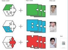 EXO CBX SM Official Goods - Fanmeeting - Coaster Set w/ Photocard - BAEKHYUN