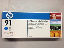 HP 91 Cyan C9467A Pigment Ink Cartridge for Designjet Z6100 775mL OEM