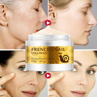 Snail Face Cream Hyaluronic Acid Anti Wrinkle Collagen Moisturizer Original UK