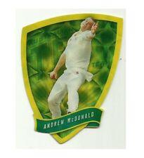2009/10 Select Cricket Australia DIE CUT FDC15 ANDREW McDONALD TEST TEAM CARD