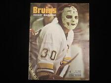January 26, 1975 Philadelphia Flyers @ Boston Bruins Program