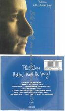 CD--PHIL COLLINS--HELLO, I MUST BE GOING --