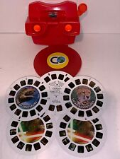 View Master Discovery Kids Dinosaurs Safari Star Wars 3D Images 5 Discs and Case