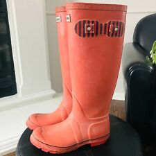 Hunters Kids Gilrs Youth Boots Tall Rain Snow Rubber ~ Size 3 ~ NICE
