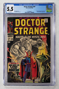 DOCTOR STRANGE #169 CGC 5.5 1st ISSUE SOLO TITLE 1968 ORIGIN STORY RETOLD