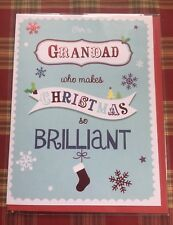 Lovely Christmas Card For A Grandad Who Makes Christmas So Brilliant