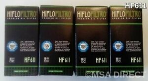 Hiflofiltro EO Quality Oil Filter (x 4) Fits SHERCO SE 3.0i F (2010 to 2017)