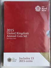 More details for 2015 royal mint annual brilliant uncirculated 13 coin set still mint sealed