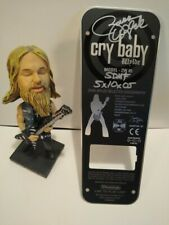Zakk Wylde Signed Dunlop Cry Baby Guitar Wah Pedal Back Plate and Bobblehead