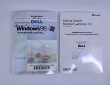 Microsoft Windows 98 Complete Dell Packaging Factory Sealed Lot of 2