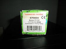 Cosmicar/ Pentax  CCTV LENS C70800PS