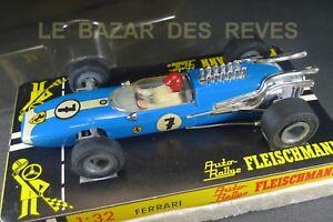 FLEISCHMANN. FERRARI F1. REF: 3201. + boite. slot car