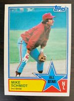1983 Topps All-Star Mike Schmidt #399 - Philadelphia Phillies - HOF - NM+