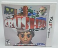 Crush3D (Nintendo 3DS, 2012) Complete Crush 3D - Complete & Tested - FREE SHIP