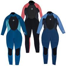 Odyssey Core 3/2mm Ladies Womens Full Wetsuit Surf Swim Kayak Long Wet Suit 6-20