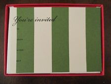 "Kate Spade ~ Paper ~ ""You're Invited"" ~ Holiday Awning Invitations ~ NIB"