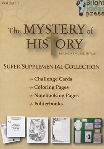 The Mystery of History Volume 1 Super Supplemental Collection on CD-ROM NEW!