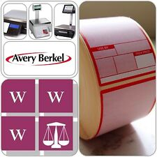 Avery Berkel Thermal Scale Labels - Format 1, 49x75mm, 12 Rolls, 6000 P&R