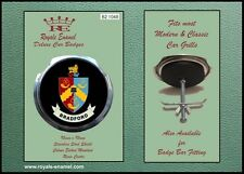 Royale Classic Car Grill Badge + Fittings - CITY of BRADFORD ENGLAND B2.1048