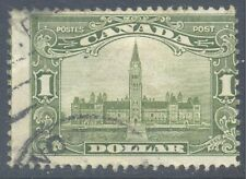 CANADA 1929 KG5 $1 Olive-Green Used