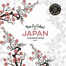 New Japanese Coloring Book Adult Motifs Pattern Relax Activity 72 Pg