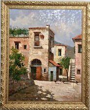 Italian Impressionist Oil Painting