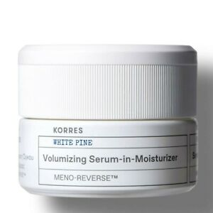 Korres Volumizing Meno-Reverse Serum in Moisturizer 1.35 oz Brand New in Bad Box