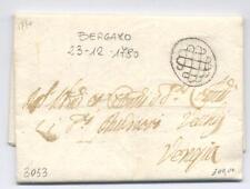 """""""BERGAMO"""" GRIGLIA NERA 1780 - REPUBBLICA DI VENEZIA"""