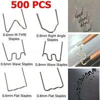 500Pcs/Set Hot Stapler Staples For Car Bumper Fender Welding Gun Plastic Repair