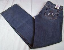 Womens Wrangler Booty Up Mae Low Rise Jeans American Royal 10MWZAR Sz 3/4 x 32
