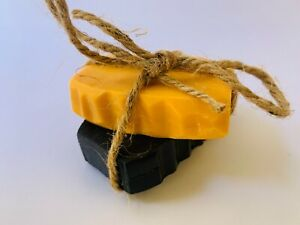 100% Sri Lankan Natural Charcoal & Sandalwood Soap Pure Ayurvedic Collection