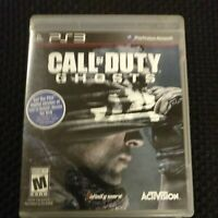 SONY PLAYSTATION 3 PS3 Call Of Duty Ghosts NO MANUAL ACTIVISION FREE S/H