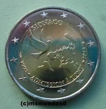 Monaco 2 Euro 2013 Vereinten Nationen UNO Gedenkmünze Euromünze commemorative