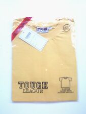 """NEW WITH TAGS:100% COTTON PLAIN T-SHIRTS WITH ROUND NECK; SIZES: 22""""- 38"""" CHEST"""