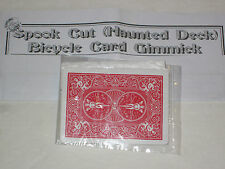 Spook Cut (Haunted Deck) Card Gimmick Magic Trick - Spooky, Scary, Close Up Prop