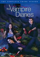 The Vampire Diaries: The Complete Third Season DVD  5-Disc Set BRAND NEW