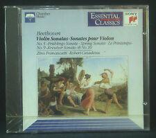 CD BEETHOVEN - violin sonatas no. 5 & 9 & 10, Francescatti, Casadesus, Sony, ovp
