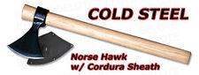 Cold Steel Tomahawk Norse Hawk Axe w/ Sheath 90N-SC90N