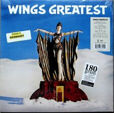 """The Beatles  """"WINGS GREATEST HITS"""" REMASTERED 180 Gram VINYL LP w/ Stickers"""