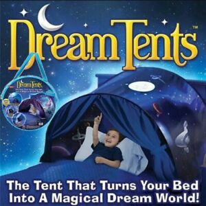 Kids dream tents children sleeping bed camp foldable playhouse night outdoor
