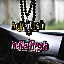 Hellaflush JDM 100% 3D Car Auto Rearview Mirror Pendant Ornament Hanging Charm