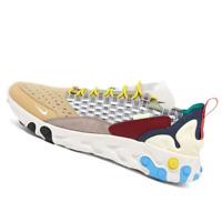NIKE MENS Shoes React Sertu - Grey, Teal, Green & Crimson - AT5301-001