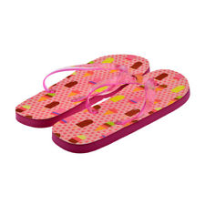 Pink Spot Lollies & Ice Creams Ladies Pink Flip Flops UK Size 4-8 - XFFS071