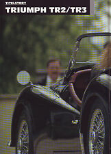 Triumph TR2 & TR3 / Land Rover 109 Serie III / Bentley/British Classic Cars 4/05