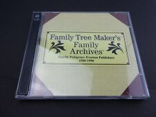 Family Tree Makers Family Archives Family Pedigrees Everton Publishers 1500-1990