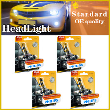 4PCS Philips 9005+9006 Headlight Light Bulb Hi/lo Beam For Buick Lucerne 2006-09