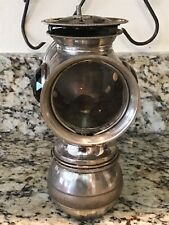 "Rare Antique 1896 Model ""Solar� Badger Brass Co. Bicycle/ Motorcycle Light Lamp"