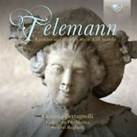 TELEMANN: CANTATAS AND CHAMBER MUSIC WITH RECORDER USED - VERY GOOD CD