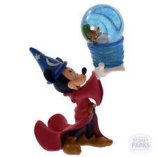 Disney Parks Sorcerer Mickey Mouse Four Parks One World Snowglobe