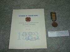 USMC Marine WWI Victory Medal Myron Rosenstien WIA Nov 1 1918